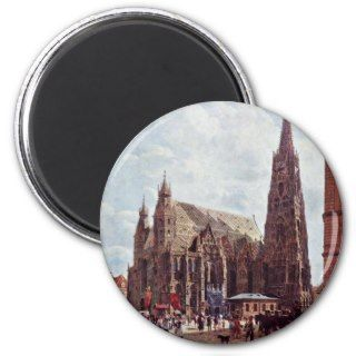 St. StephenS Cathedral Stock Im Eisen Fridge Magnets