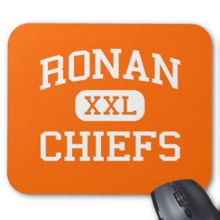 Ronan   Chiefs   Ronan High School   Ronan Montana Mouse Pad