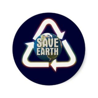 001:05) Save Earth   Sticker