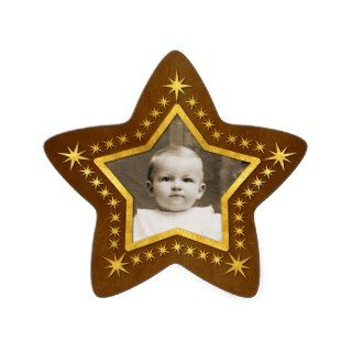 Star Shaped Photo Frame Sticker
