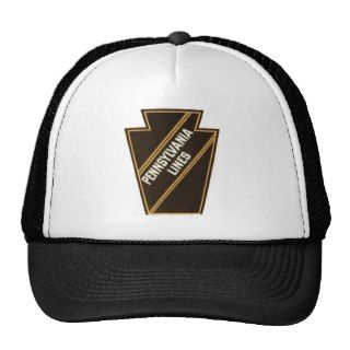Pennsylvania Railroad Vintage Logo Hats