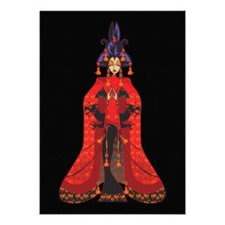 Quan Yin Invitations