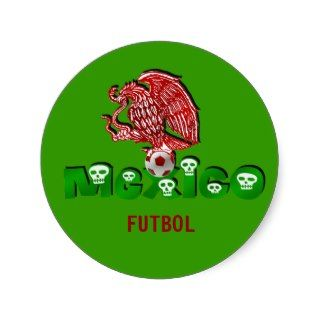 Mexico eagle soccer futbol stickers