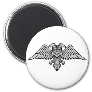 Double headed eagle magnet