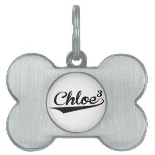 chloe pet name tags