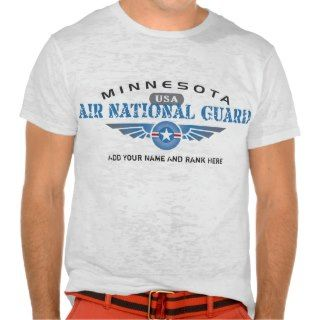 Minnesota Air National Guard T Shirts