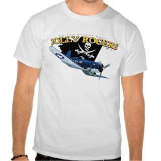 Corsair f4U Jolly Rogers Shirt