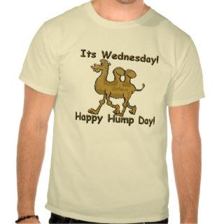 Hump Day Camel Tshirt