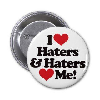 Love Haters and Haters Love Me Button
