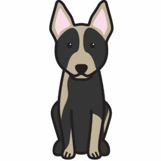 Australian Cattle Dog Cartoon Photo Cutouts