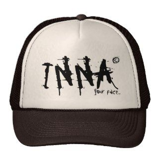 "INNA Trucker has ""your face  Trucker Hats"