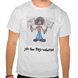fro girl t shirt