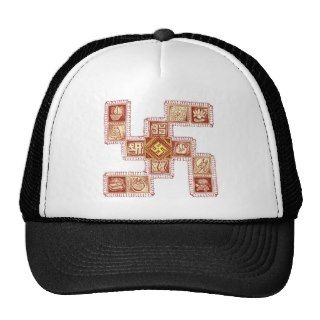 Indian Traditional Swastika Hat