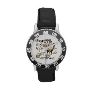 Funny Hump Day Camel Kids Watch