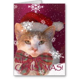 Meowy Christmas! Cards