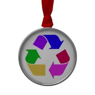 Recycling Rainbow Premium Ornament