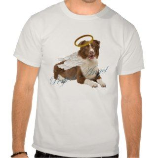 Australian Shepherd Perfect Angel T shirt