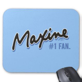 Maxine Number 1 Fan Mouse Mat