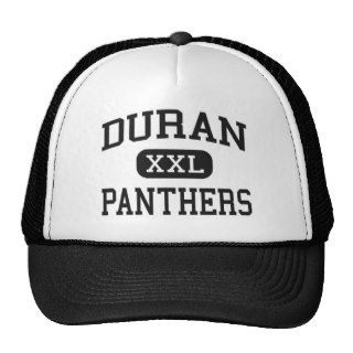 Duran   Panthers   Junior   Pell City Alabama Mesh Hats