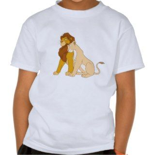 Lion Kings Adult Simba and Nala Disney Shirts