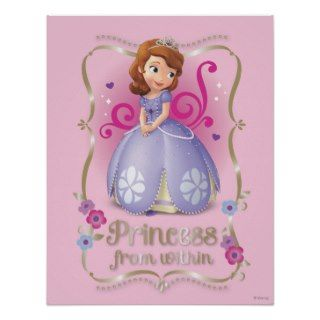 Sofia: Princess Within Print