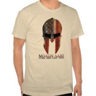 Molon Labe   Come and Take Them USA Spartan Shirts