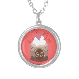 65th Birthday Gift Ideas For Her Pendant