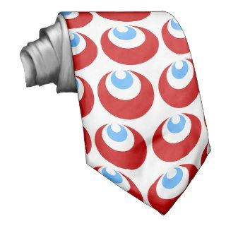 Symbol of Strength and Cintemani Power Pattern Custom Tie