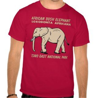 African Bush Elephant Tees