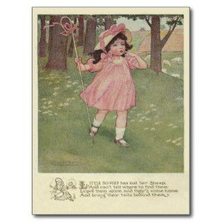 Vintage Little Bo Peep Post Cards