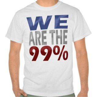 We Are the Ninety Nine Percent, Chunky Block Shirt