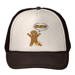 Oh Snap! Funny Christmas Gingerbread Man Trucker Hat