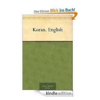 Koran. English eBook: J. M. (John Medows) Rodwell: Kindle