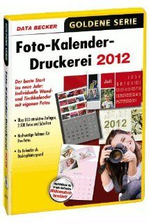Foto Kalender Druckerei 2012: Software