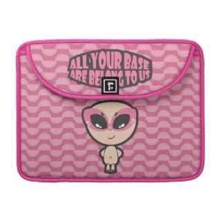 All Your Base Are Belong To Us MacBook Pro Sleeve