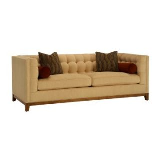 Jared Condo Zaza Mocha Fabric Sofa with Pillows   Sofas