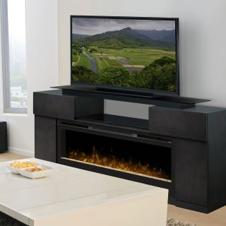 Dimplex Concord Media Electric Fireplace   Electric Fireplaces at