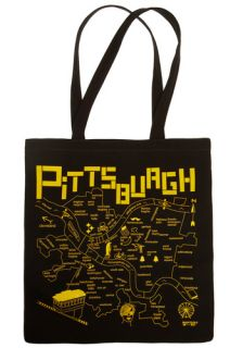 Around 'Tahn Pittsburgh Tote  Mod Retro Vintage Bags