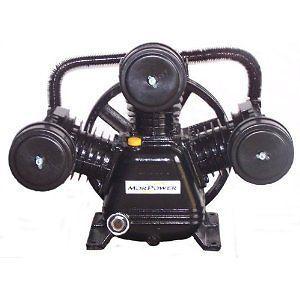 Air Compressor Pump Replacement Pump 34 CFM 120 PSI Single Stage