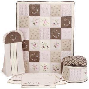 Baby Girl Bedding Set Kids Line Floral Bedding Set Julia