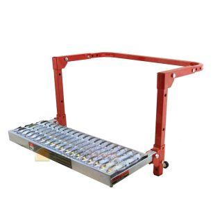 Truck SUV Tire Platform Wheel Step Up Folding Adjustable Ladder Non Slip Step
