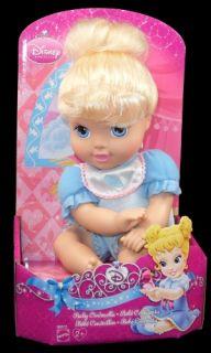 New Disney Princess Baby Cinderella Plush Doll Toy