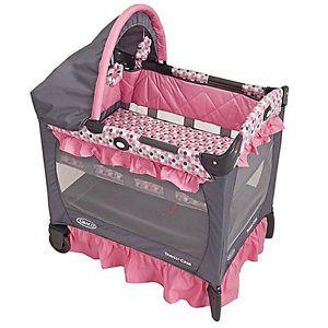 Graco – Portable Travel Folding Convertible Mini Baby Play Yard Crib Playard