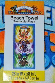Skylanders Giants Beach Bath Pool Towel