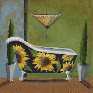 Bath Sunflower Light Switch Plate Floral Bathroom Theme Home Decor Beautiful