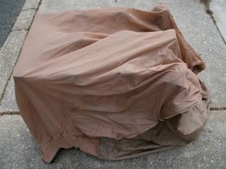 Ozark Trail Queen Size Anywhere Bed Light Brown Cloth Bed Frame Cover