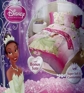 Princess Tiana And Frog Southern Full Size Comforter Sheets 5pc