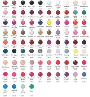Ibd gel nail polish choose and 10 colors from color chart