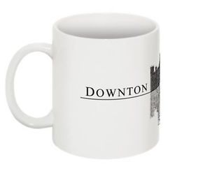 Downton Abbey Highclere Castle Ceramic Coffee Mug