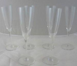 Baccarat Crystal Champagne Flutes
